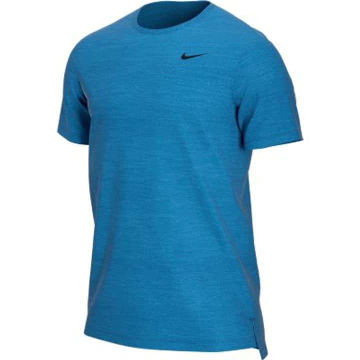 Dri-FIT Breathe Herren-T-Shirt Nike 464968100640 Farbe blau Grösse XL Bild-Nr. 1
