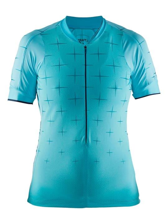 Belle Glow Maillot à manches courtes pour femme Craft 461333100582 Couleur turquoise claire Taille L