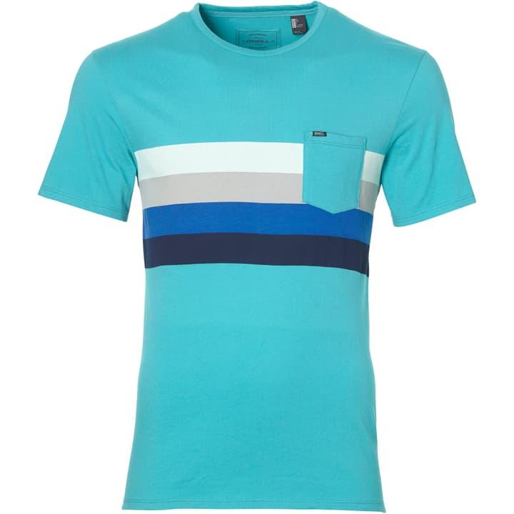 LM HORIZON T-SHIRT Herren-T-Shirt O'Neill 463113400544 Farbe türkis Grösse L Bild-Nr. 1