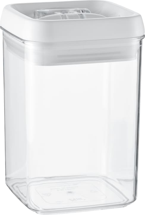 NOA Vorratsdose 441136200810 Farbe Transparent, Weiss Grösse B: 10.0 cm x T: 10.0 cm x H: 15.3 cm Bild Nr. 1