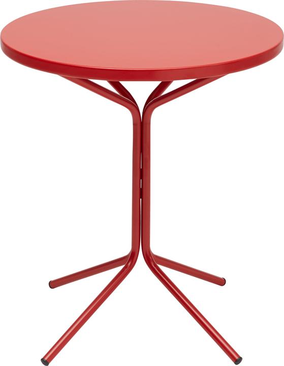 PIX Bistrotisch Schaffner 408010200030 Farbe Rot Grösse H: 72.0 cm Bild Nr. 1