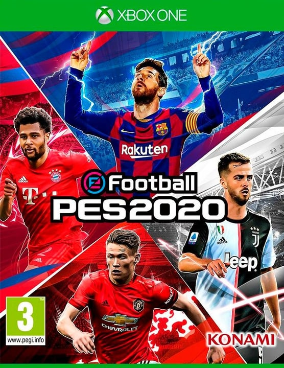 Xbox One - PES 2020 - Pro Evolution Soccer 2020 Box 785300145959 Bild Nr. 1