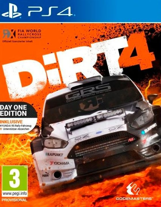 PS4 - DiRT 4 Day One Edition 785300122296 Photo no. 1