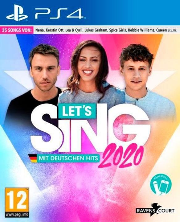 PS4 - Let's Sing 2020 mit deutschen Hits D Box 785300146838 Photo no. 1