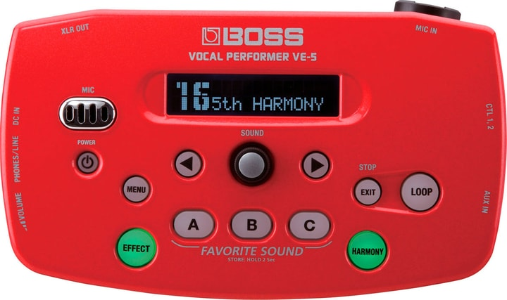 VE-5 Vocal Processor Boss 785300150540 Bild Nr. 1