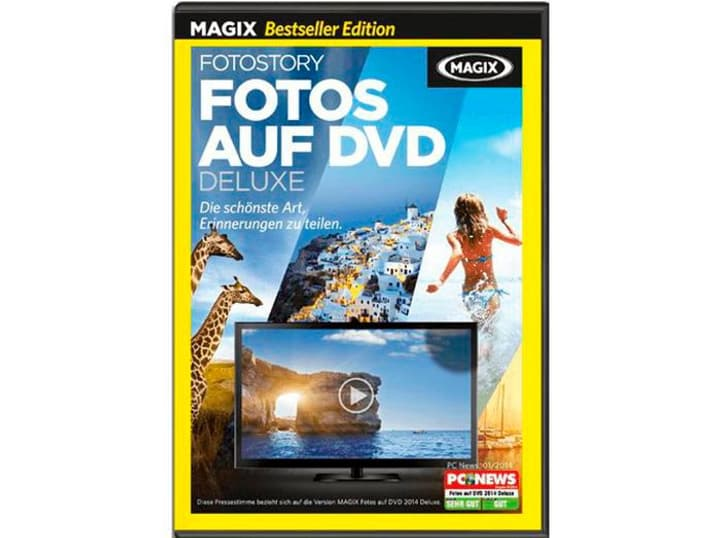 PC Bestseller MAGIX Fotos auf DVD Deluxe Physique (Box) Magix 785300122173 Photo no. 1