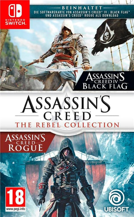 NSW - Assassin's Creed: The Rebel Collection Box 785300148922 Bild Nr. 1