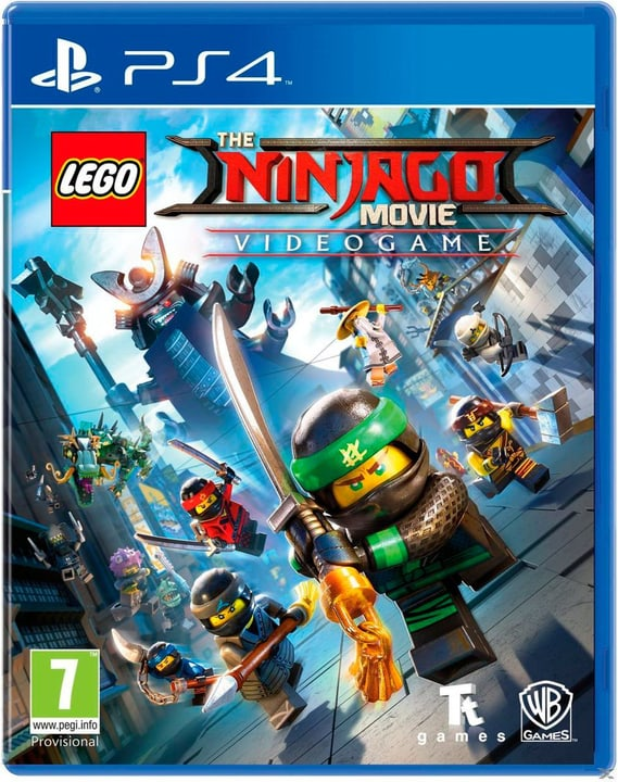PS4 - LEGO Ninjago Movie Videogame Box 785300128824 Bild Nr. 1