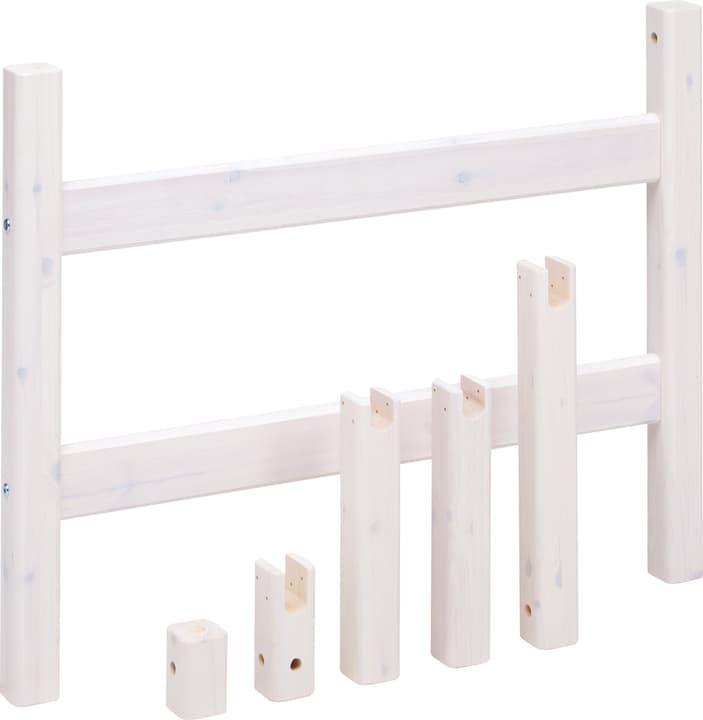 CLASSIC Montants pour lit combiné Flexa 404872500000 Dimensions L: 100.0 cm x P: 7.0 cm x H: 76.0 cm Couleur White Wash Photo no. 1