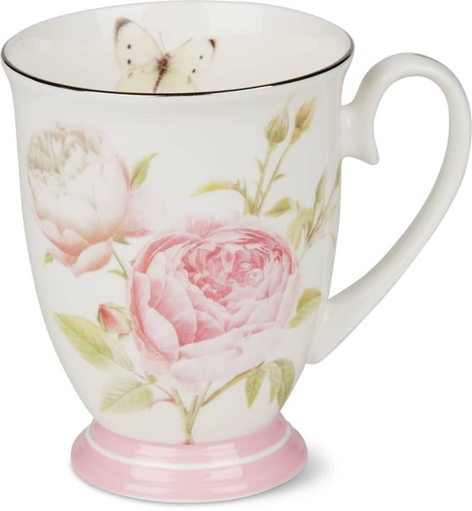BLOSSOM Tasse Cucina & Tavola 700160600002 Farbe Rosa, Weiss Grösse H: 11.0 cm Bild Nr. 1