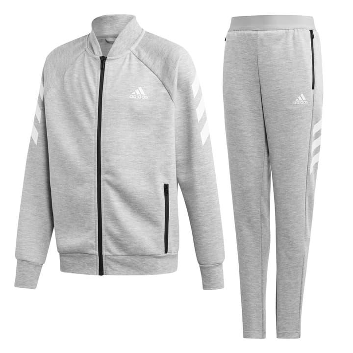 Track Suit Kinder-Trainer Adidas 466940312880 Farbe grau Grösse 128 Bild-Nr. 1