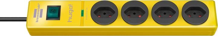 Steckdosenleiste hugo! 4fach gelb Brennenstuhl 613173400000 Bild Nr. 1