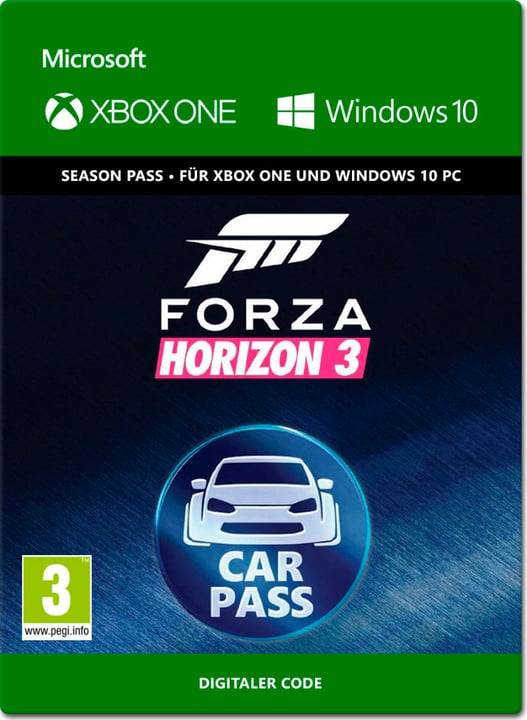 Xbox One - Forza Horizon 3: Car Pass Download (ESD) 785300137359 N. figura 1