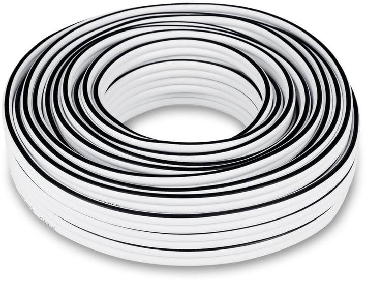 C4515S 2x4mm² 15m - Blanc Câble haut parleur Teufel 785300138180 Photo no. 1