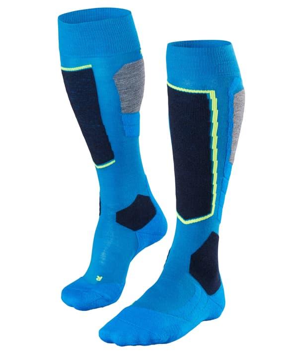 SK4 Calze da sci per uomo Falke 497170339140 Colore blu Taglie 39-41 N. figura 1