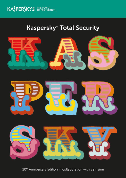 PC / Mac / Android Total Security 20 Jahre Edition Kaspersky 785300129046 Photo no. 1