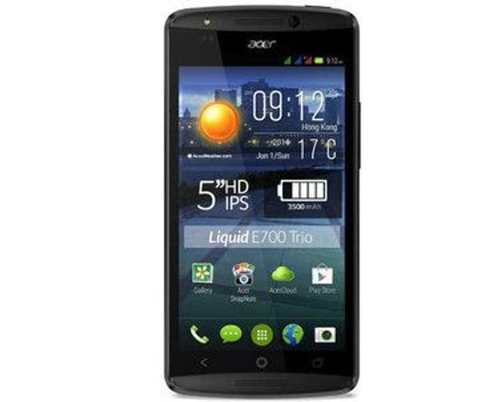 Acer Liquid E700 Trio 16 GB schwarz Acer 95110037220415 Bild Nr. 1