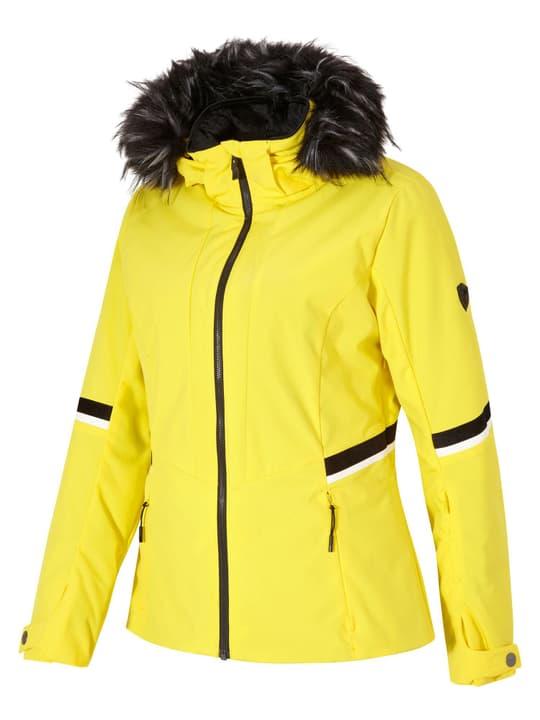 TOYAH Giacca da sci da donna Ziener 462546004450 Colore giallo Taglie 44 N. figura 1