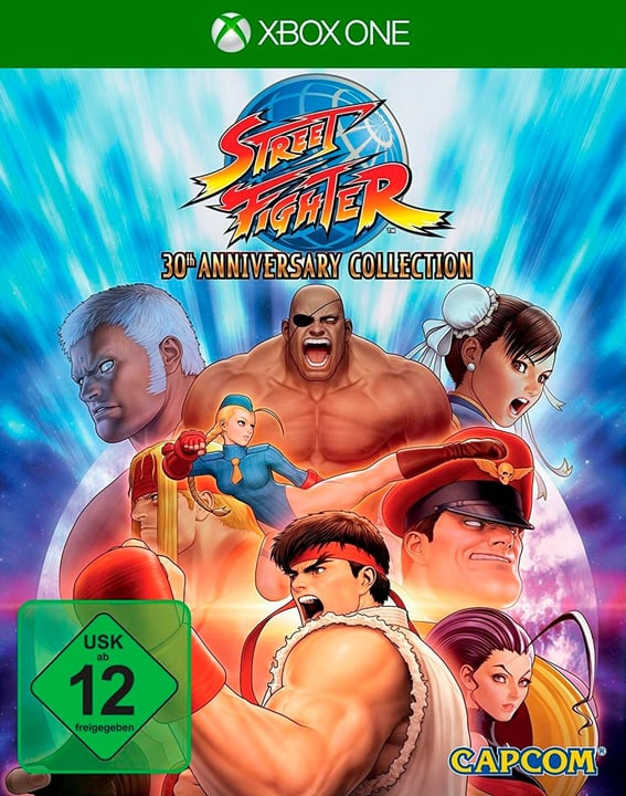 Xbox One - Street Fighter 30th Anniversary Collection Physique (Box) 785300133927 Langue Français, Allemand, Italien Plate-forme Microsoft Xbox One Photo no. 1