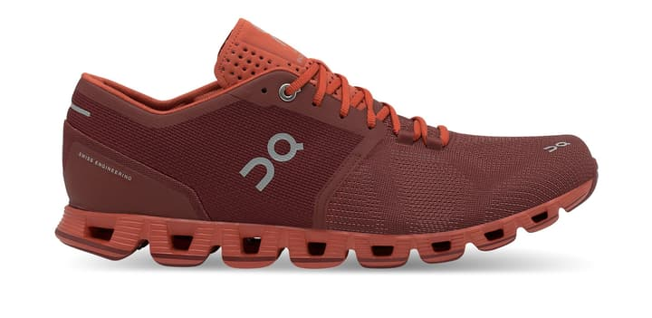 Cloud X Scarpa da uomo running On 492840147578 Colore ruggine Taglie 47.5 N. figura 1