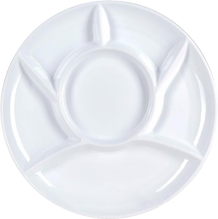 CHALET Piatto da fondue 444834900010 Colore Bianco Dimensioni A: 2.5 cm N. figura 1
