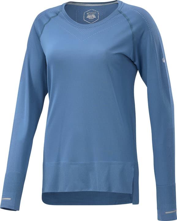 SEAMLESS LS Maillot à manches longues pour femme Asics 470144500242 Couleur bleu azur Taille XS Photo no. 1