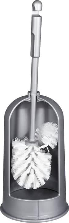 Bürstenhalter mit Spülrandreiniger Do it + Garden 675513900000 Farbe Grau Grösse 13,5 cm x 13,5 cm x 42 cm  Bild Nr. 1