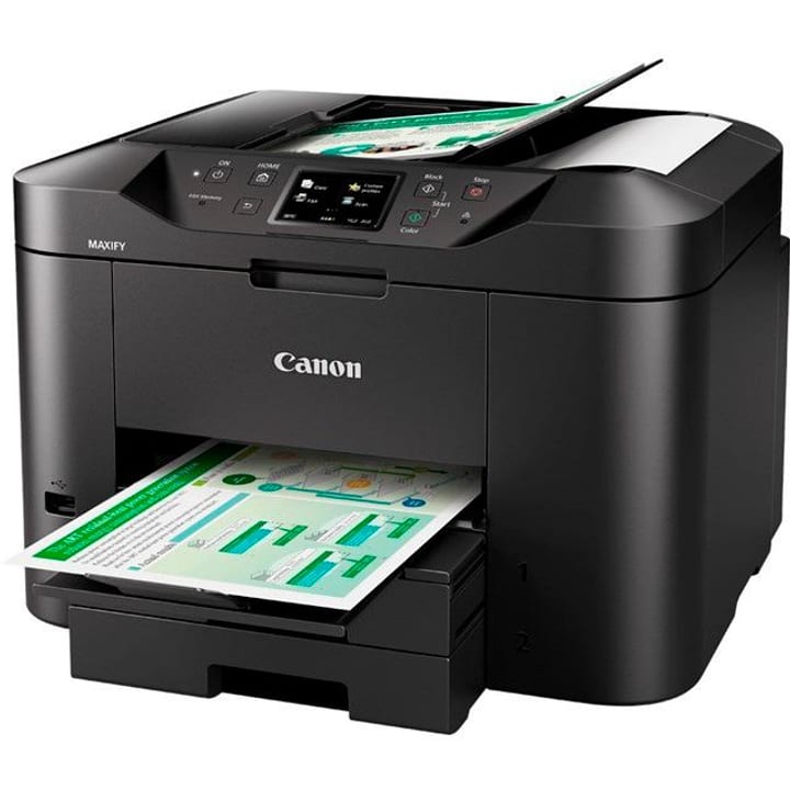 Canon maxify mb2750 drucker scanner kopierer fax for Drucker scanner kopierer