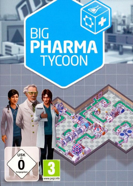 PC - Big Pharma Tycoon Physique (Box) 785300122279 Photo no. 1