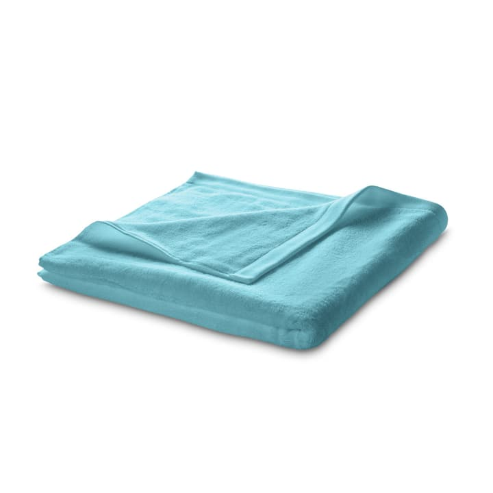ROYAL Linge de bain 374037400000 Dimensions L: 90.0 cm x P: 160.0 cm Couleur Turquoise Photo no. 1
