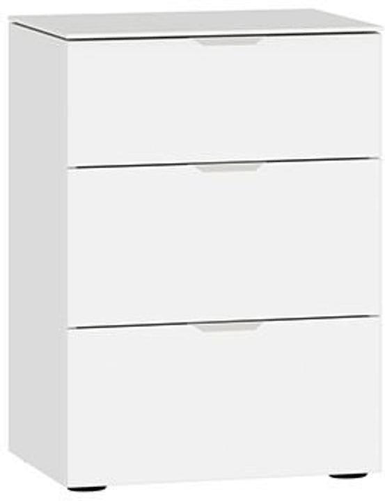 MODUL Nachttisch 404546200000 Grösse B: 45.0 cm x T: 43.0 cm x H: 65.0 cm Farbe Weissglas satiniert Bild Nr. 1