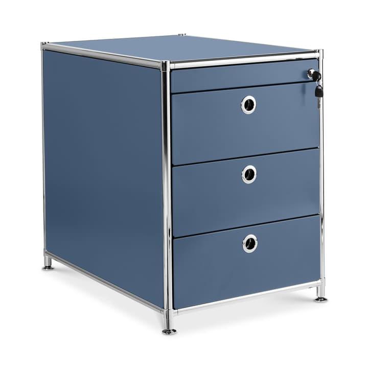 QUADRO Caisson 364250000042 Couleur Bleu foncé Dimensions L: 43.0 cm x P: 60.0 cm x H: 54.0 cm Photo no. 1