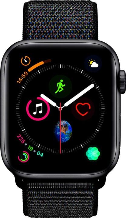 Watch Serie 4 44mm GPS space gray Aluminum Black Sport Loop Smartwatch Apple 798456100000 N. figura 1