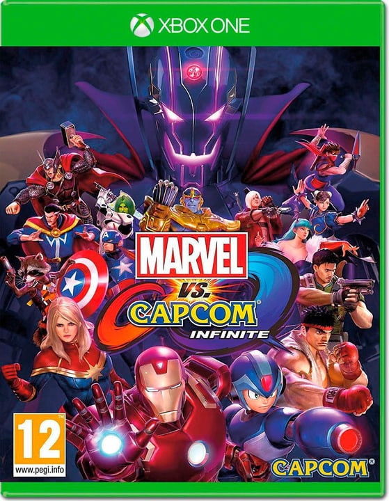 Xbox One - Marvel vs Capcom Infinite Fisico (Box) 785300129286 N. figura 1