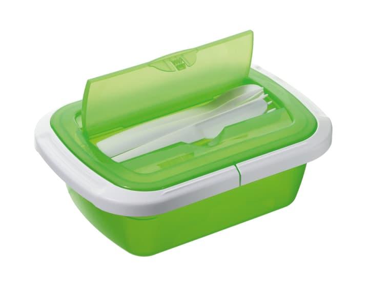 M-TOPLINE Quick Save Snackbox M-Topline 703706500060 Farbe Grün Grösse B: 15.0 cm x T: 7.5 cm x H:  Bild Nr. 1