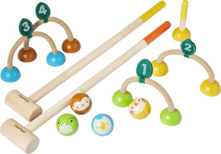 SPIEL Krocketspiel Plan Toys 404734800000 Bild Nr. 1