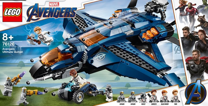 LEGO 76126 Marvel Super Hero 748714400000 Bild Nr. 1