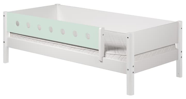 WHITE Lit simple Flexa 404953400000 Dimensions L: 100.0 cm x P: 210.0 cm x H: 67.0 cm Couleur menthe Photo no. 1
