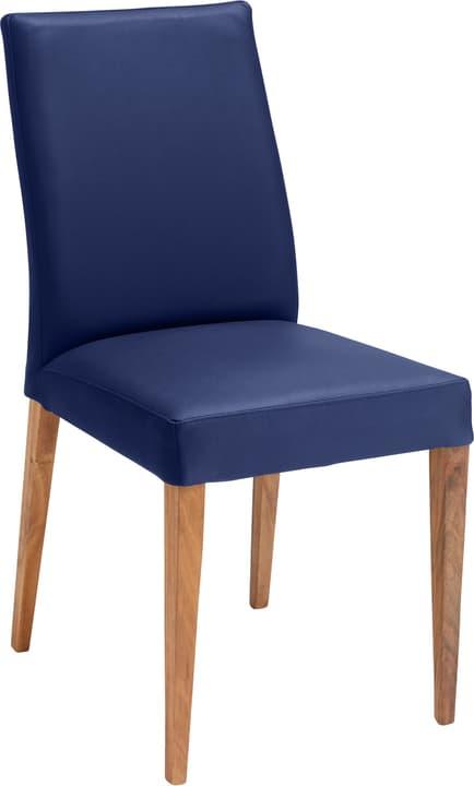 SERRA Chaise 402355600040 Dimensions L: 46.0 cm x P: 57.0 cm x H: 92.0 cm Couleur Bleu Photo no. 1