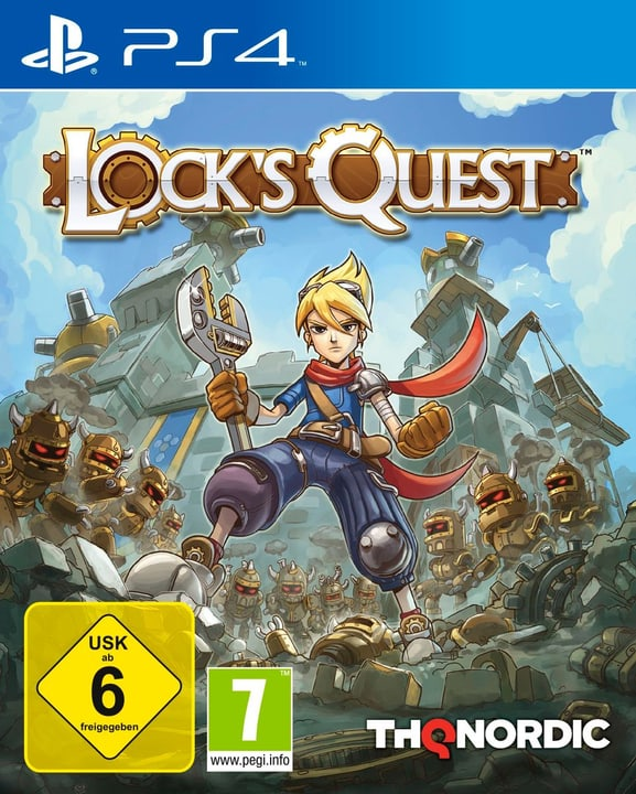PS4 - Lock's Quest Box 785300122129 Bild Nr. 1