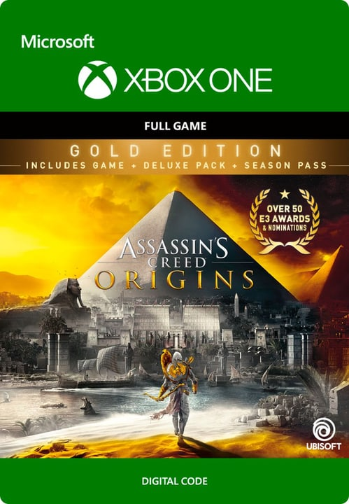 Xbox One - Assassin's Creed Origins: Gold Edition Digitale (ESD) 785300136375 N. figura 1