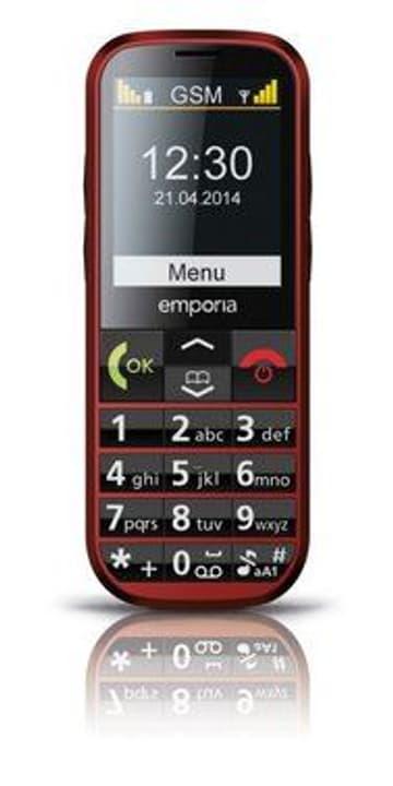 Emporia Eco C160 Mobiltelefon rot Emporia 95110040589515 Bild Nr. 1