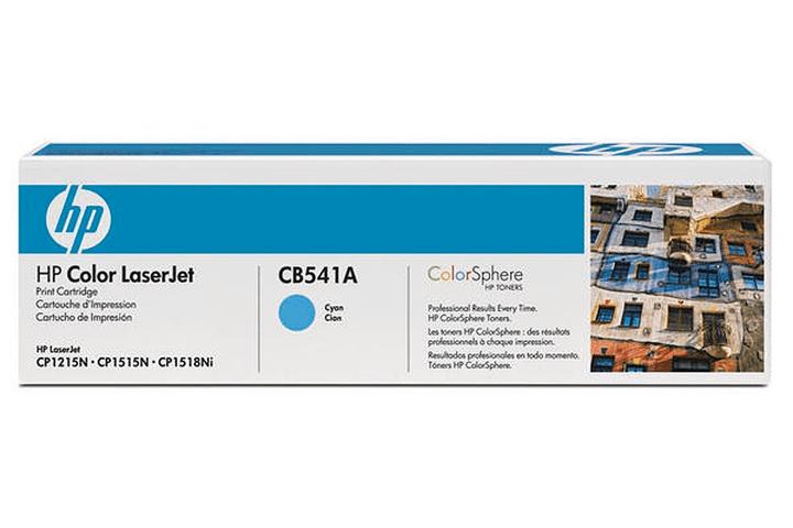 CB541A Toner-Modul cyan HP 797505300000 N. figura 1