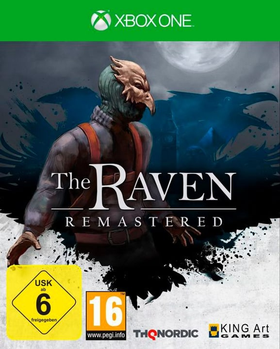 The Raven Remastered (XONE) (D) Box 785300132059 Bild Nr. 1