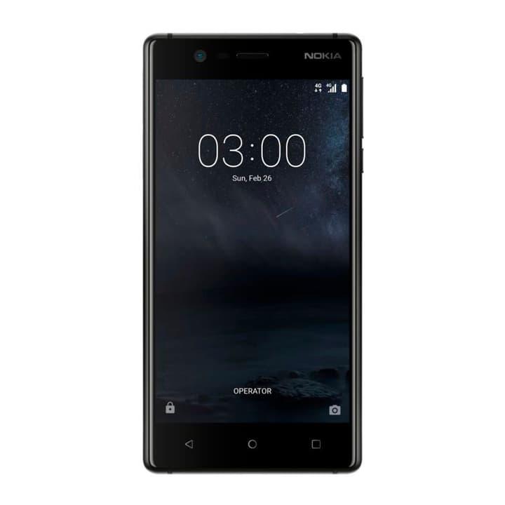 3 Smartphone schwarz Smartphone Nokia 794619600000 Bild Nr. 1
