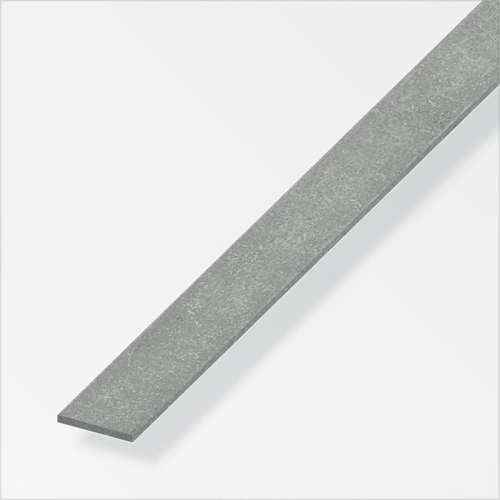 Barra piatta 20 x 2 mm acci. trafilato 1 m alfer 605112800000 N. figura 1