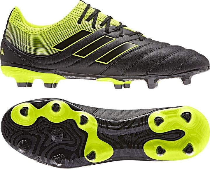 Copa 19.3 FG Scarpa da calcio uomo Adidas 493089540020 Colore nero Taglie 40 N. figura 1