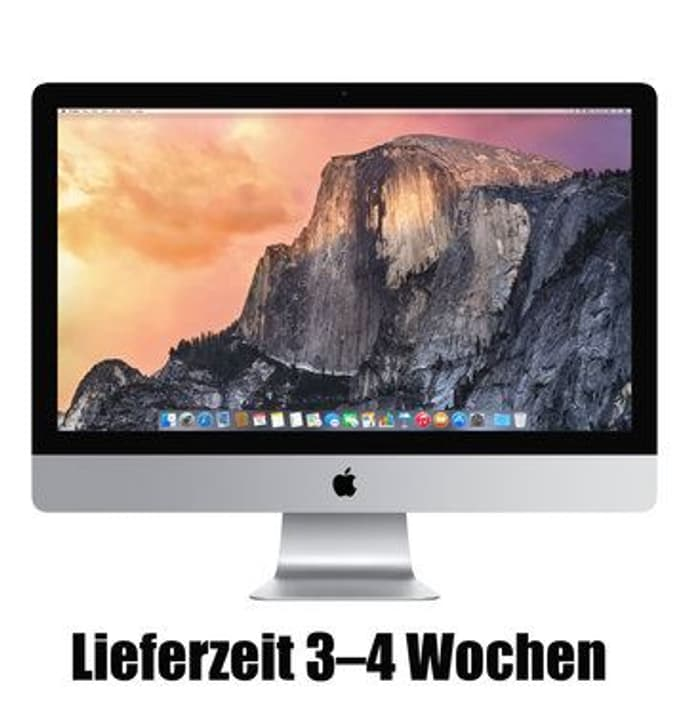 """CTO iMac 3.4GHz i5 27"""" 16GB 256GB Flash NKeyboard Apple 79786420000015 Bild Nr. 1"""