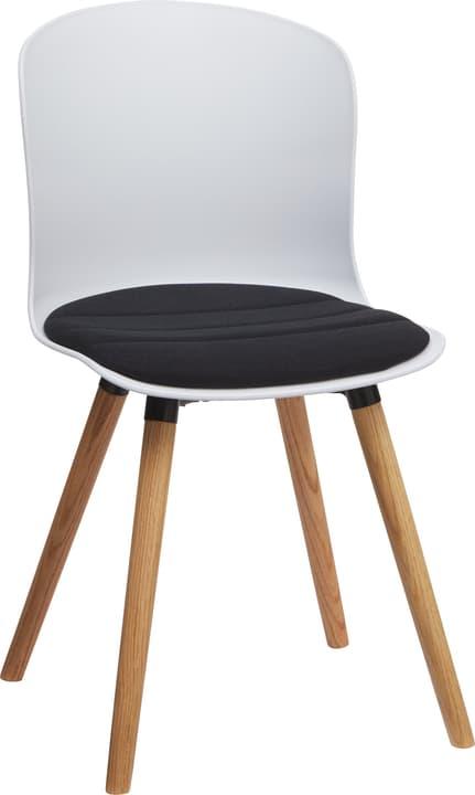 BRERA Stuhl 402397800000 Grösse B: 45.5 cm x T: 54.0 cm x H: 80.5 cm Farbe Schwarz Bild Nr. 1
