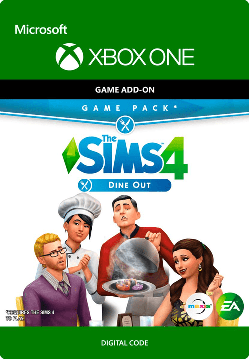 Xbox One - The Sims 4: Dine Out Digitale (ESD) 785300135546 N. figura 1